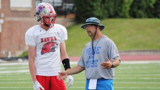 Photos: East team prepares for Shrine game in Great Falls
