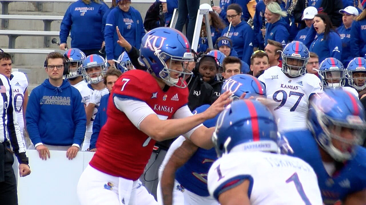 Kansas 2019 Spring Game 4