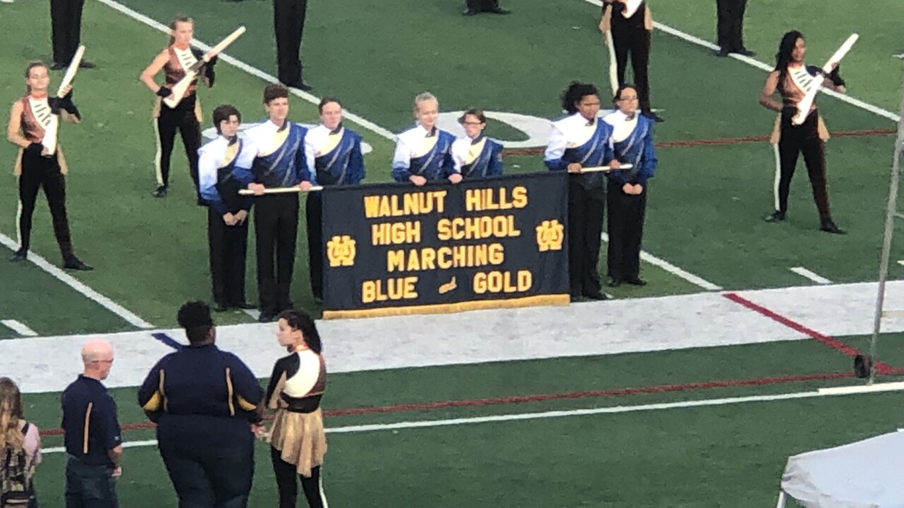Walnut Hills High School marching band