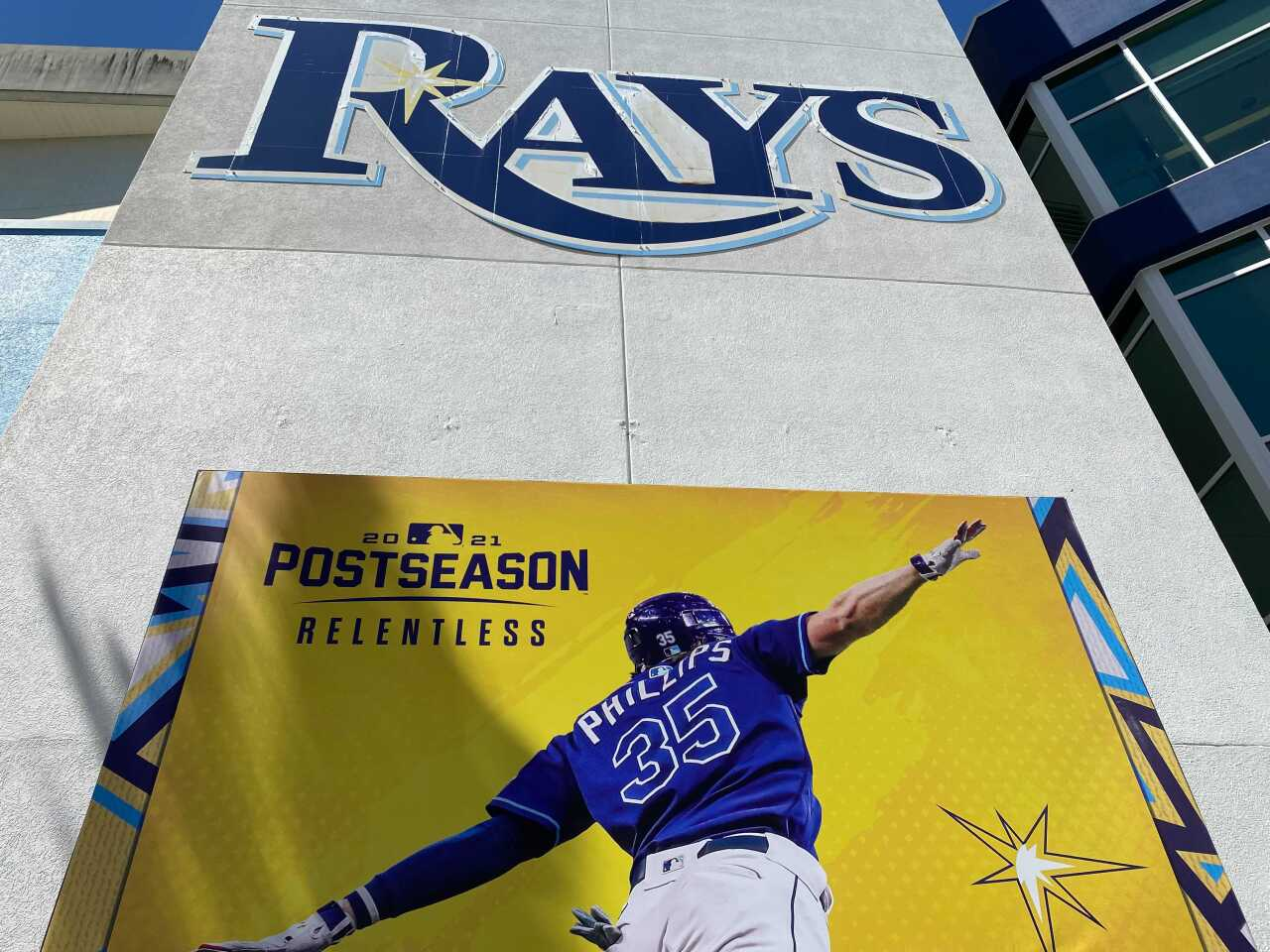 Tropicana Field on 10/4/2021 ahead of the MLB Playoffs