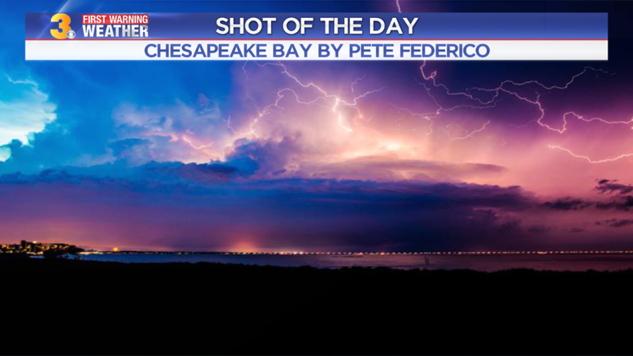 Chief Meteorologist Patrick Rockey's Shots of the Day