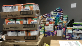 WCPO dayton overflowing donations.png