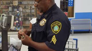Photos: Newport News sergeant takes action by helping mother buy schoolsupplies