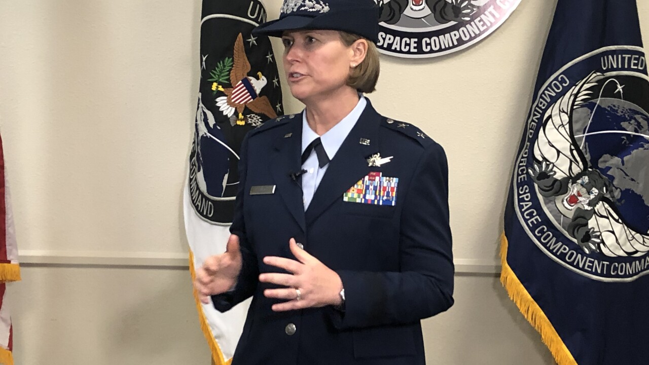 The Combined Force Space Component Command welcomed a new commander