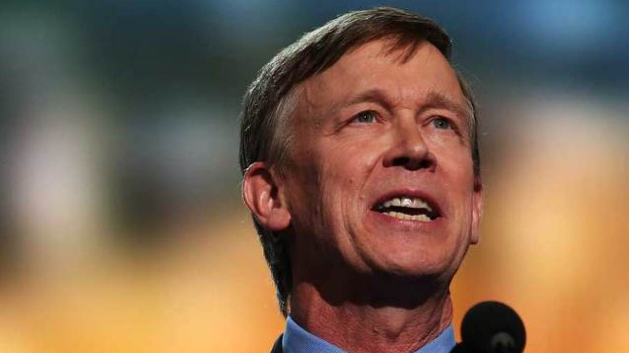 Could Gov. Hickenlooper be Hillary's VP pick?