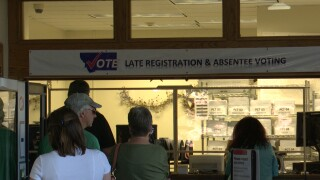 Lewis & Clark County sees many voters still dropping off ballots, registering