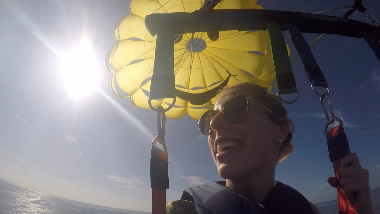 Tampa Bay Bucket List Parasailing