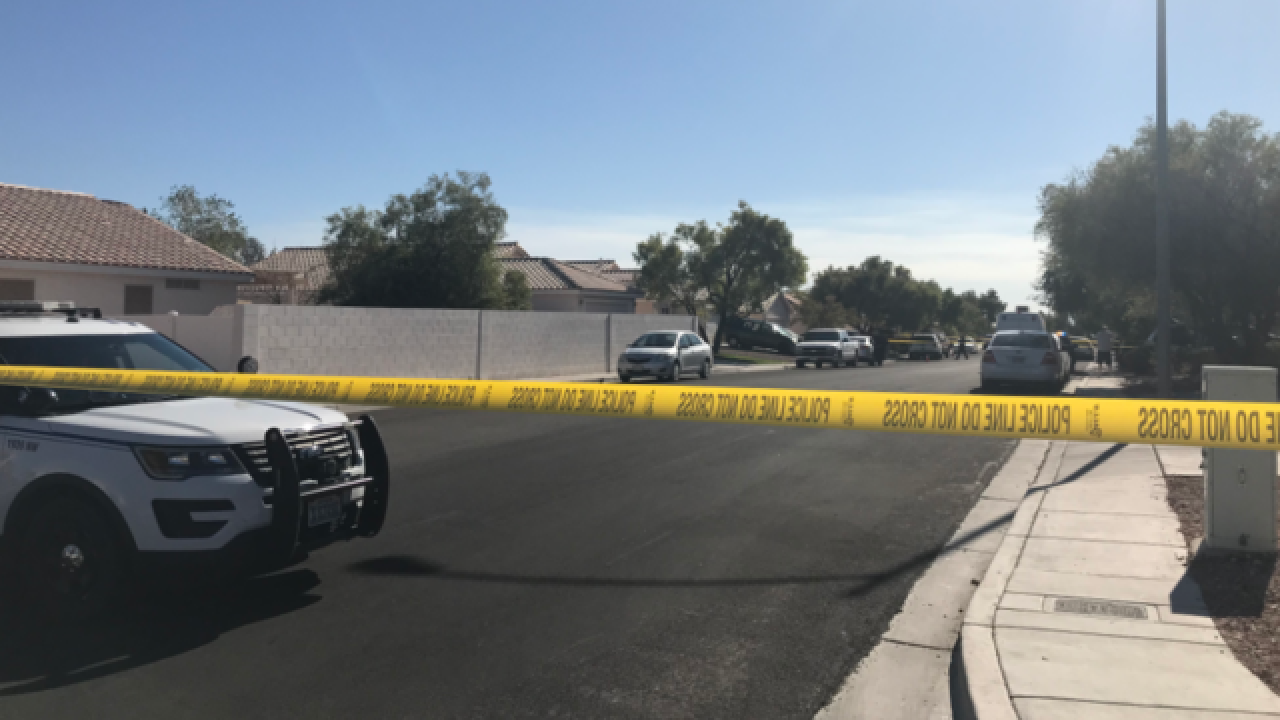 NLVPD: Critical shooting involving child