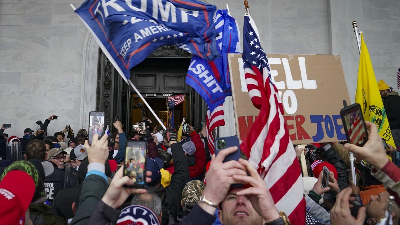 capitol riot protest breach