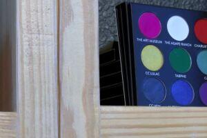Businesses create makeup palette to benefit local non-profits