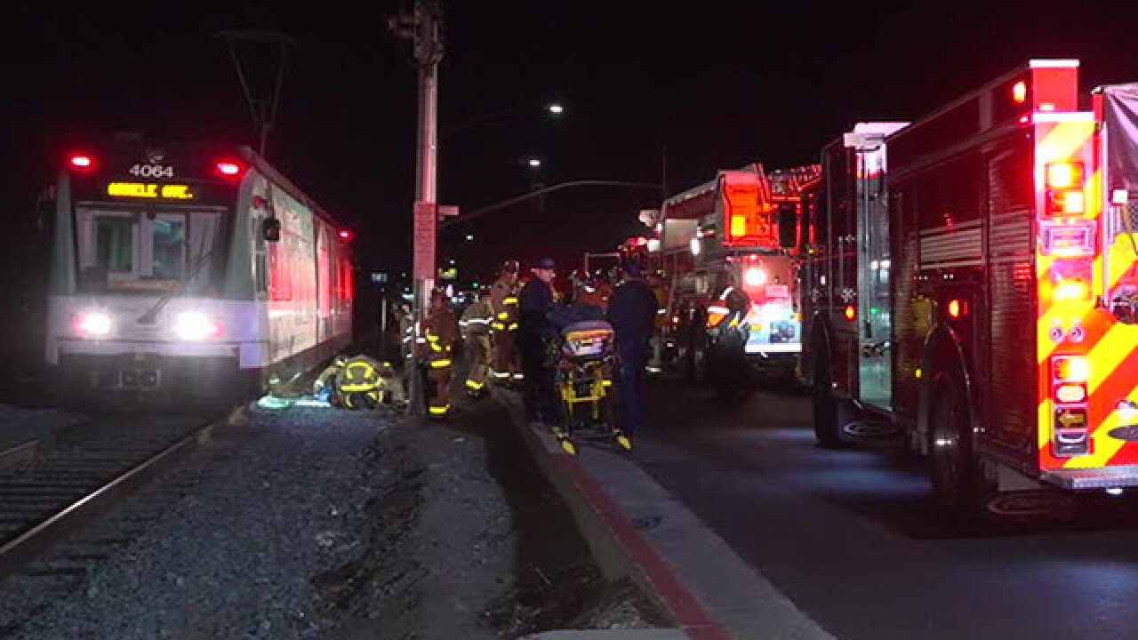 Woman hit, killed by trolley in Encanto