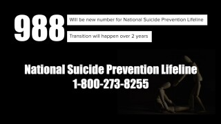 FCC designates '988' for Suicide Prevention Lifeline