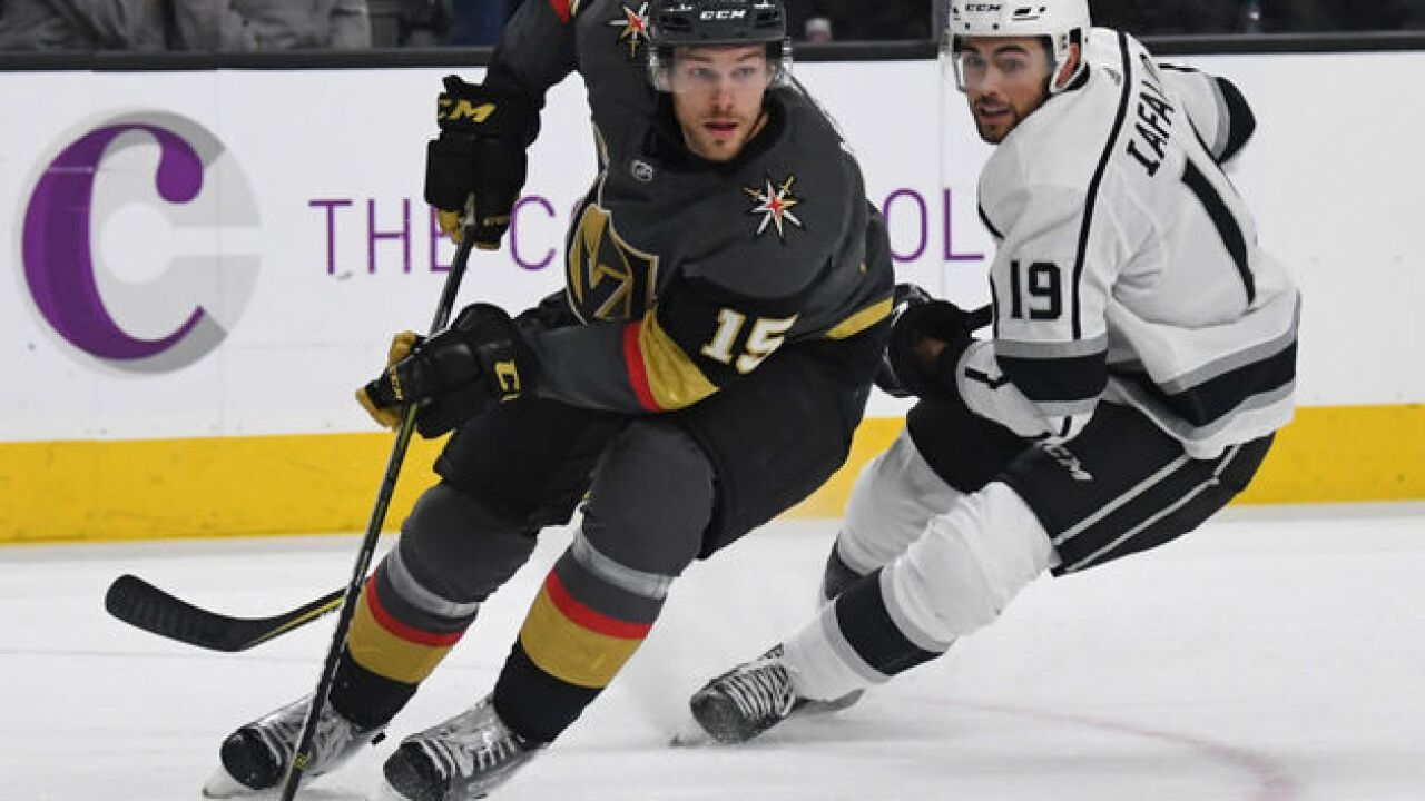 Playoff schedule: Golden Knights vs. Kings