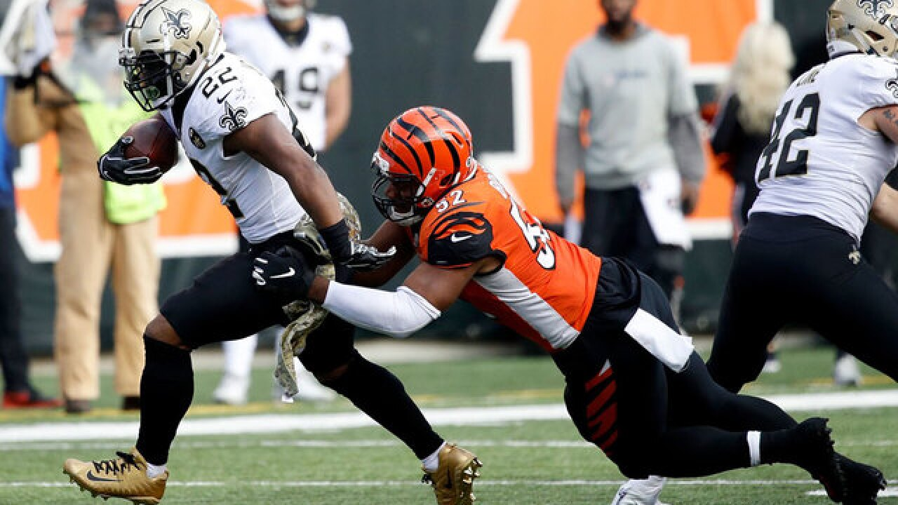 Flying Pigskin: Cincinnati Bengals fire defensive coordinator in wake of huge loss to Saints 51-14