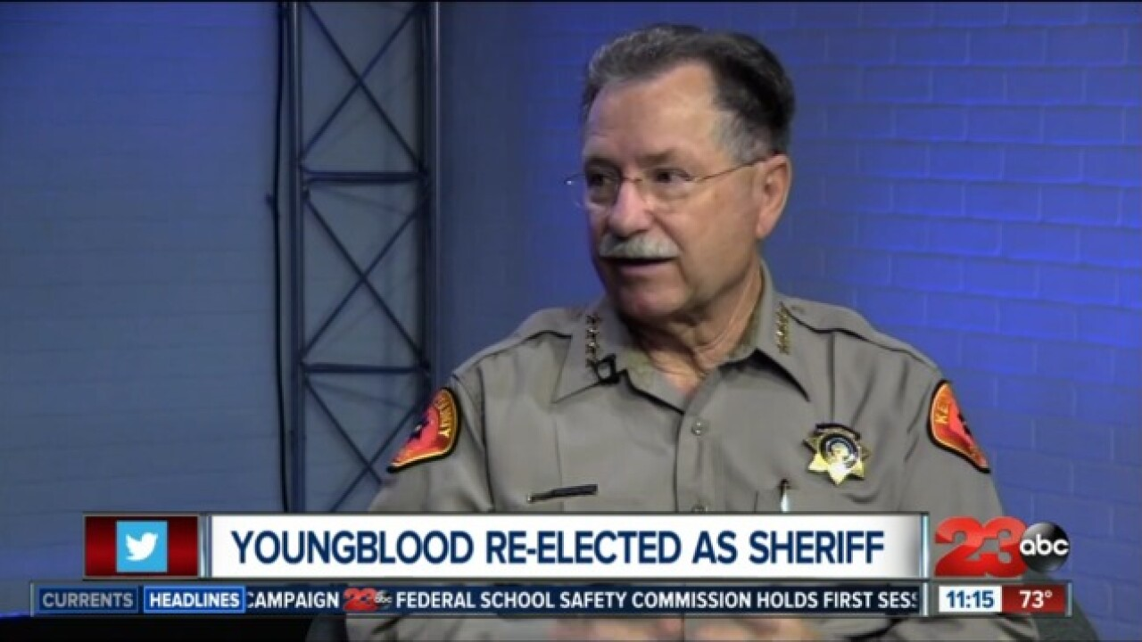 Sheriff Youngblood sits down with 23ABC to discuss safety at Lerdo