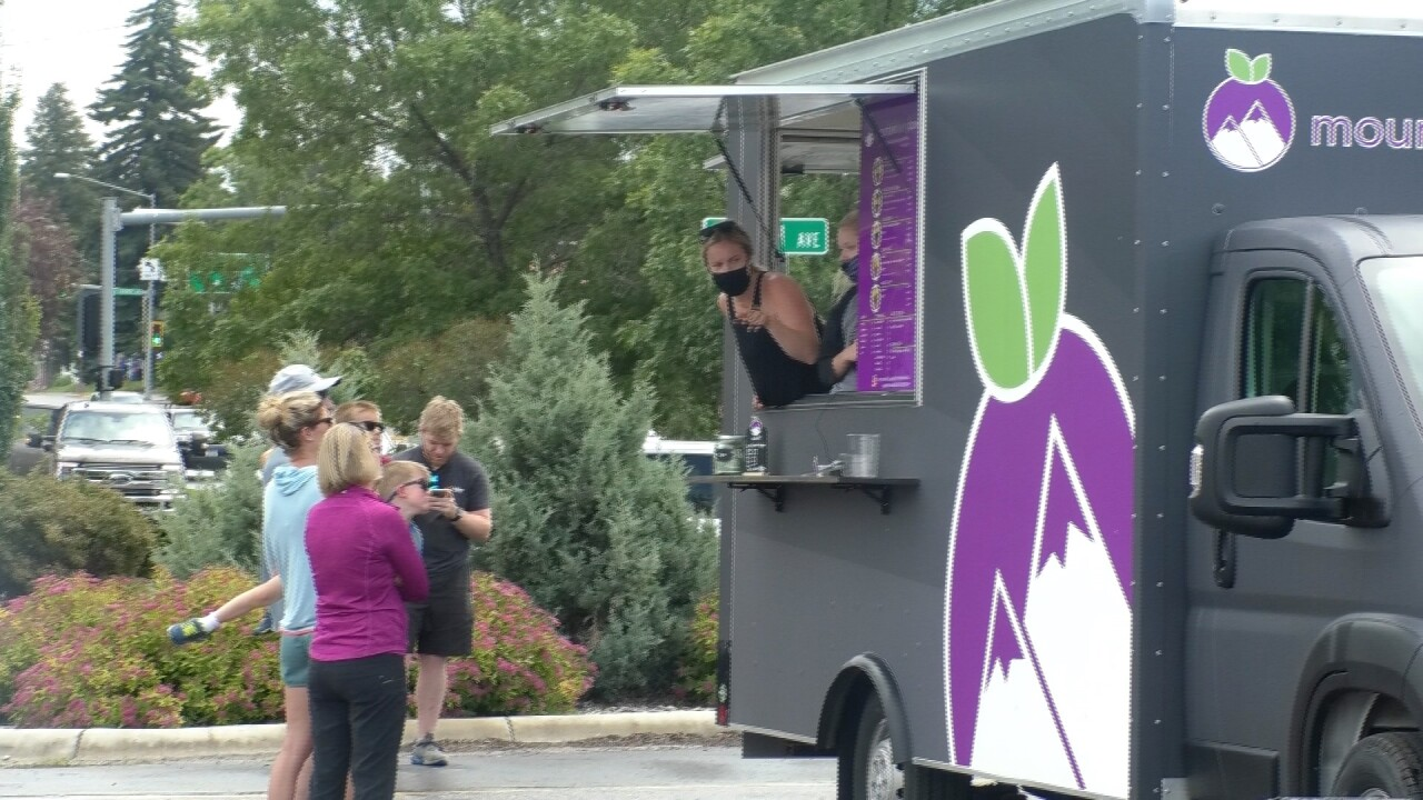 Local food trucks experiencing positive effects during pandemic
