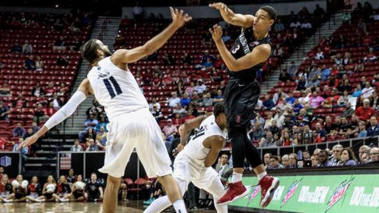 SDSU one win from Mountain West tournament crown; New Mexico awaits