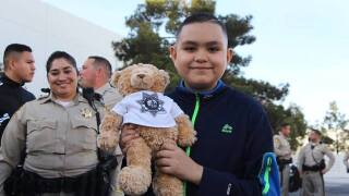 Las Vegas police make one boy's wish come true