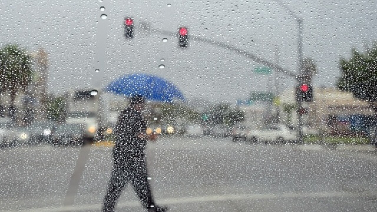 Record rainfall takes LA by surprise