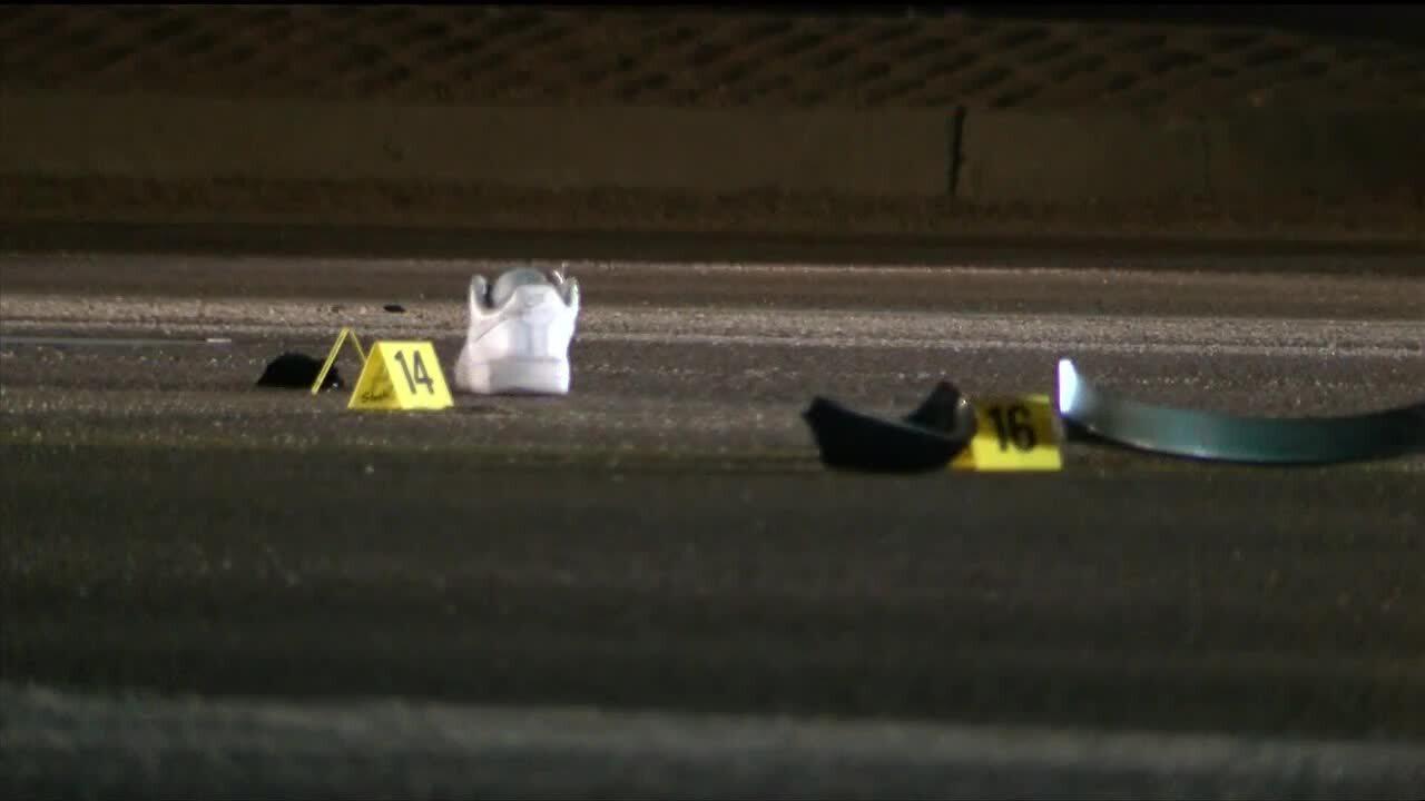 Teens struck on Fountain Mesa Rd