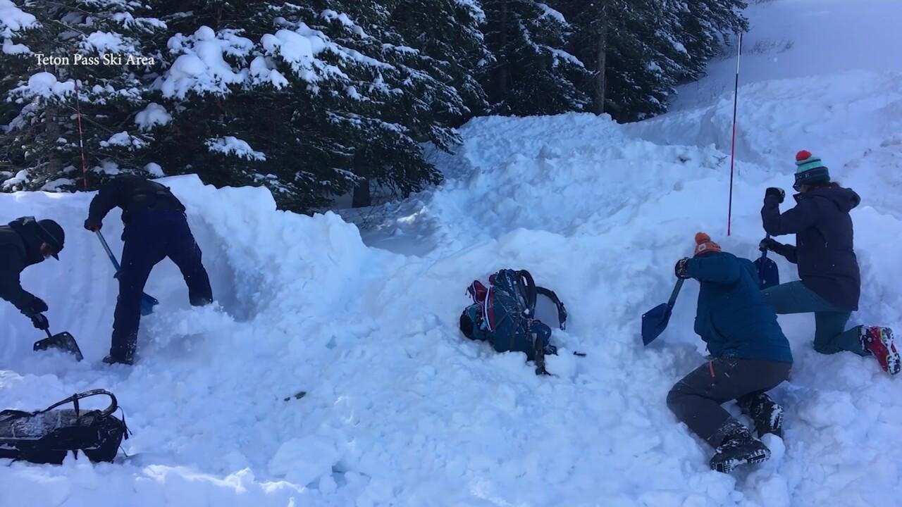 Teton Pass teaches about avalanche dangers