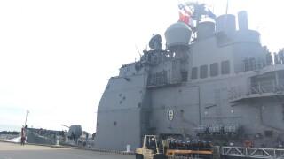 Photos: USS Monterey returns to Norfolk from 7.5 monthdeployment