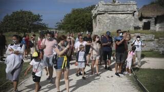 Virus Outbreak Mexico Tourism