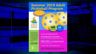 C.C. Parks and Rec to hold summertime pickleball program