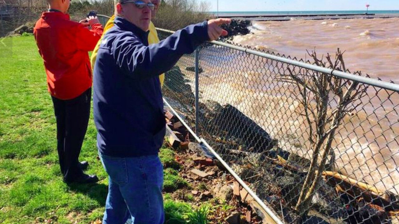 New York's Niagra County declares state of emergency over rising Lake Ontario levels