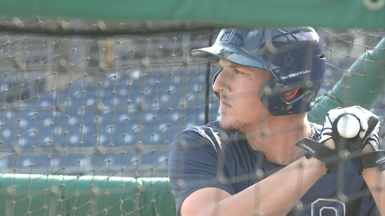 Kansas City Royals select ODU's Vinnie Pasquantino in 11th round of MLB Draft