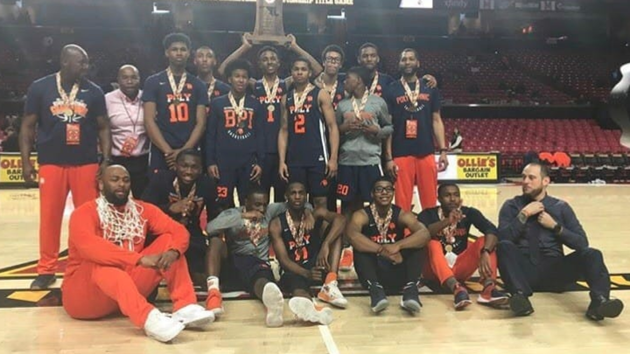 Poly Boys Basketball Team Ranked In Espn S Top 25 Rankings