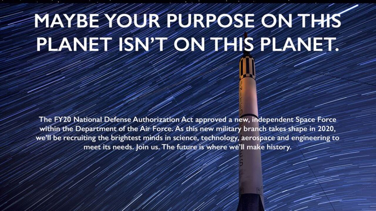 US Space Force recruiting