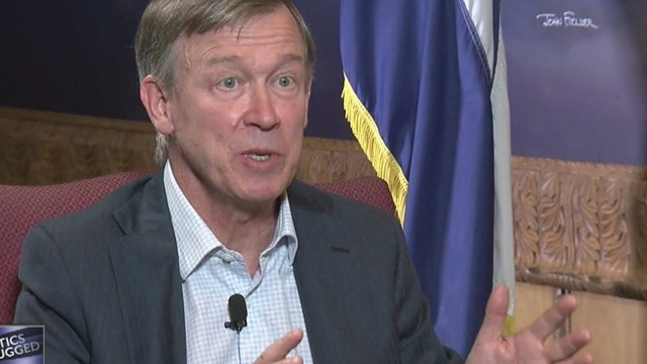 Hickenlooper decides to denounce Trump comments