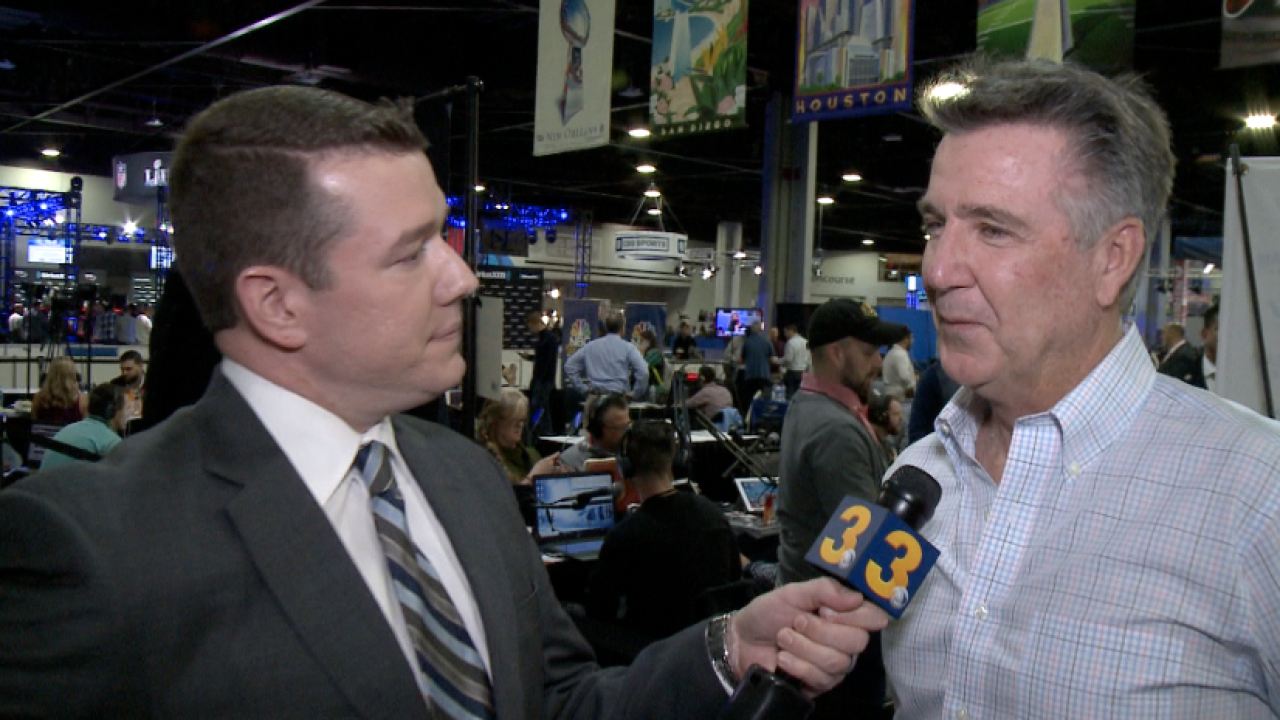 """""""We feel it. We're frustrated, too."""" Wink chats 1-on-1 with Redskins president BruceAllen"""