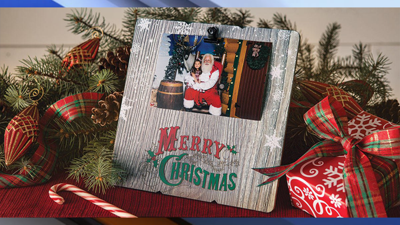 Get a FREE photo with Santa at Bass Pro Shops