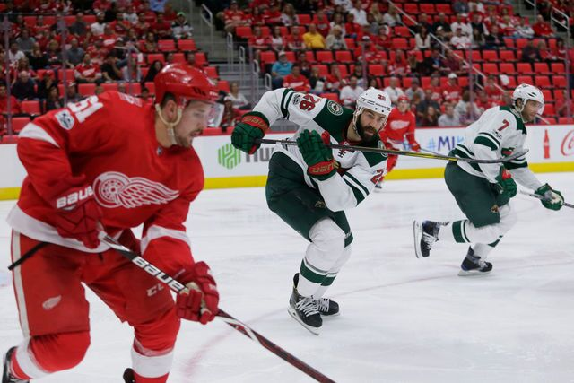 Photo gallery: Red Wings' historic home opener at Little Caesars Arena