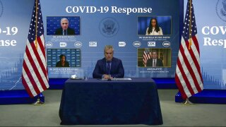 White House COVID-19 response team briefing