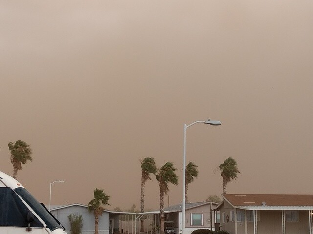 Photo gallery: Storms bring rain, wind dust to the Valley, July 9