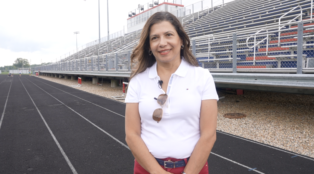 Cynthia Pluff, Natalia's mother, taught her to go for what she wants