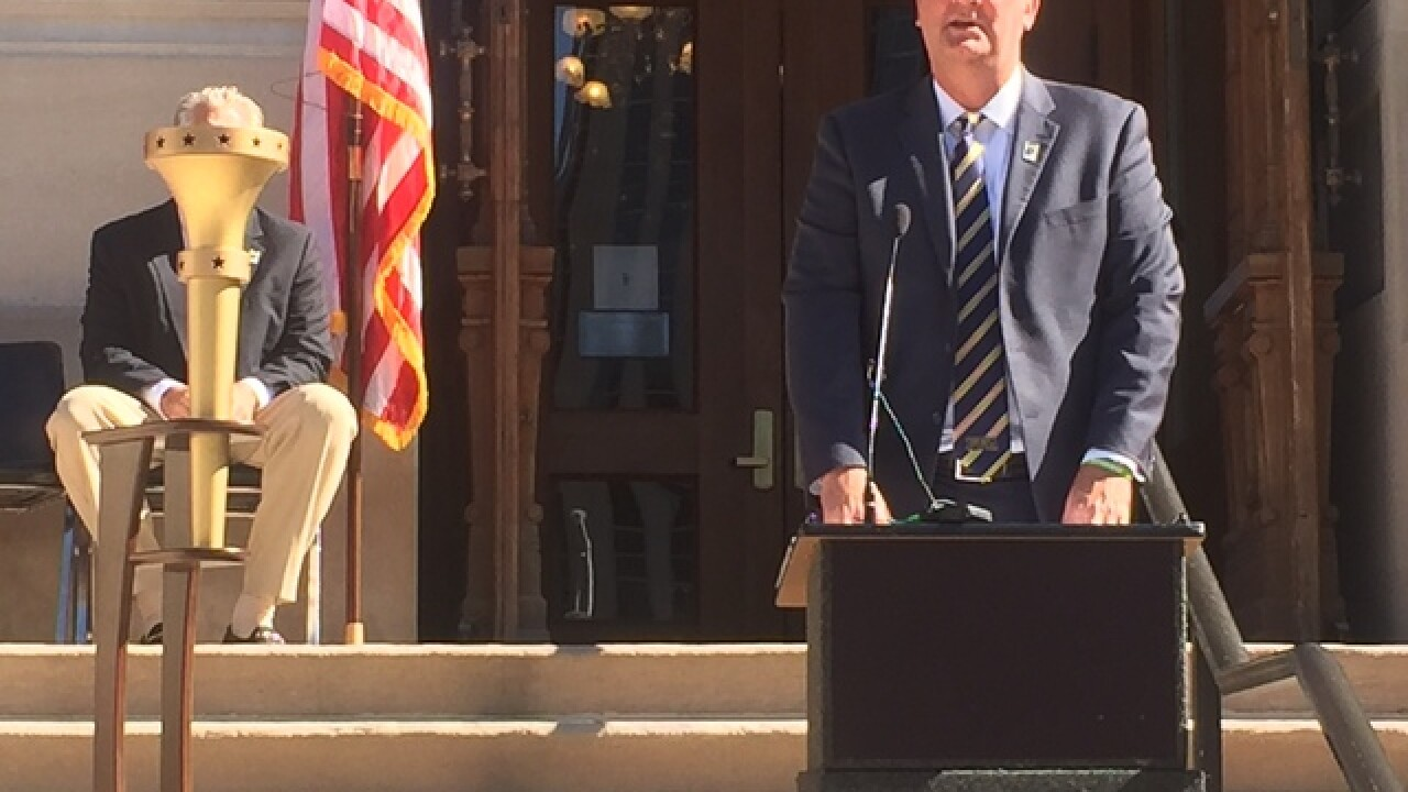 PHOTOS: Indiana Bicentennial Relay announcement