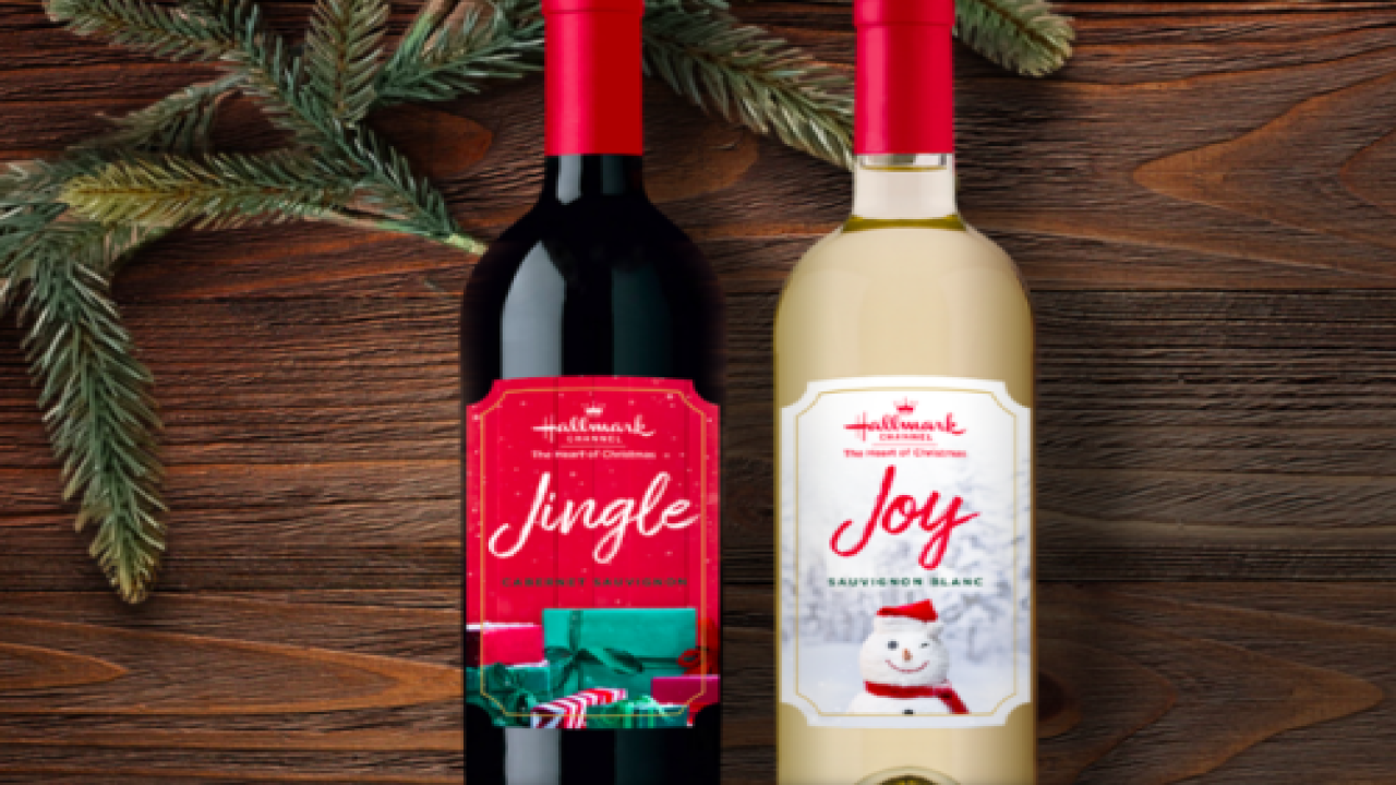 Hallmark Is Launching Wines To Pair With Their Christmas Movies