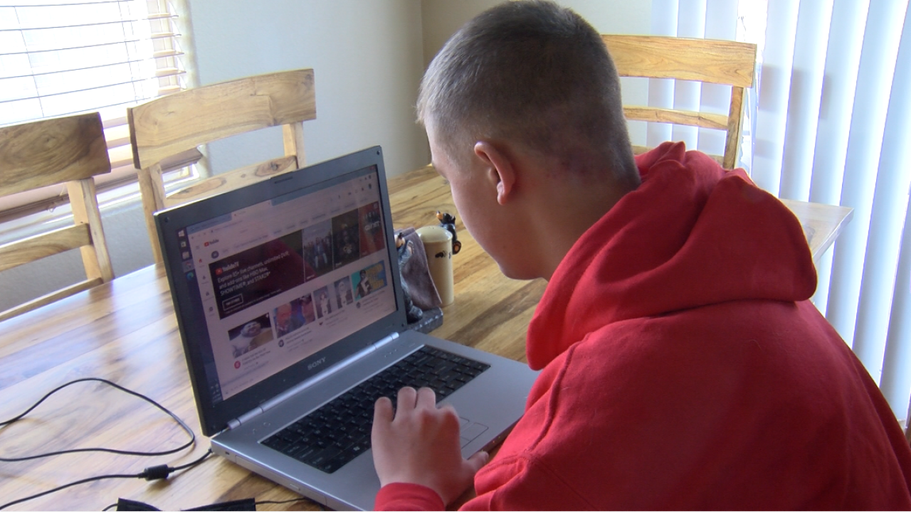 Families tackle tech addiction during pandemic.