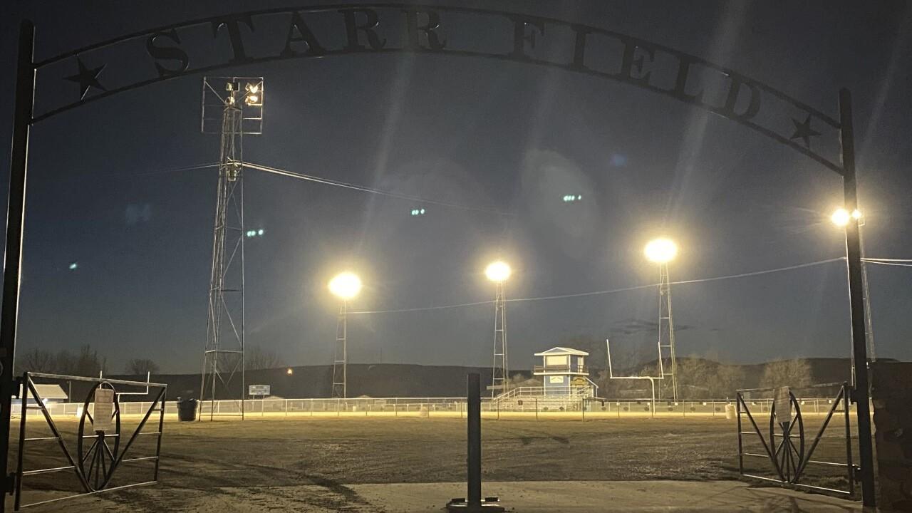 Fairview High School football field