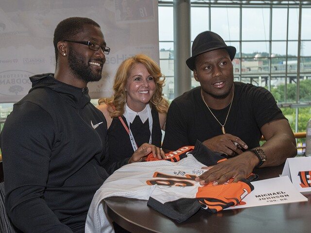 Bengals host 16th annual Taste of the NFL, and our mouths are watering