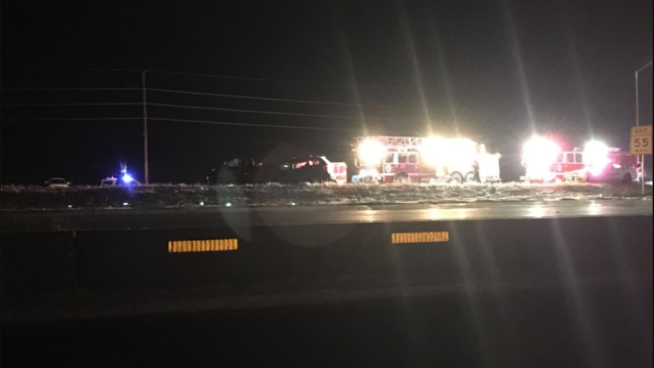 3 dead in I-70 & Tower Rd crash