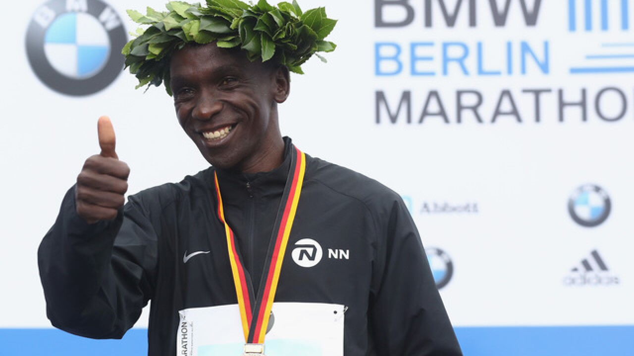 How Eliud Kipchoge smashed the marathon world record