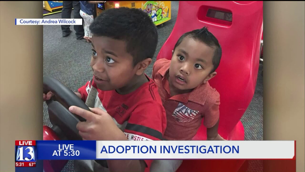Utah family speaks highly of adoptionfacilitator