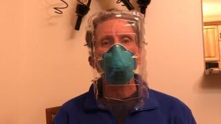 Great Falls physician improvises face shield for added protection during COVID-19 outbreak