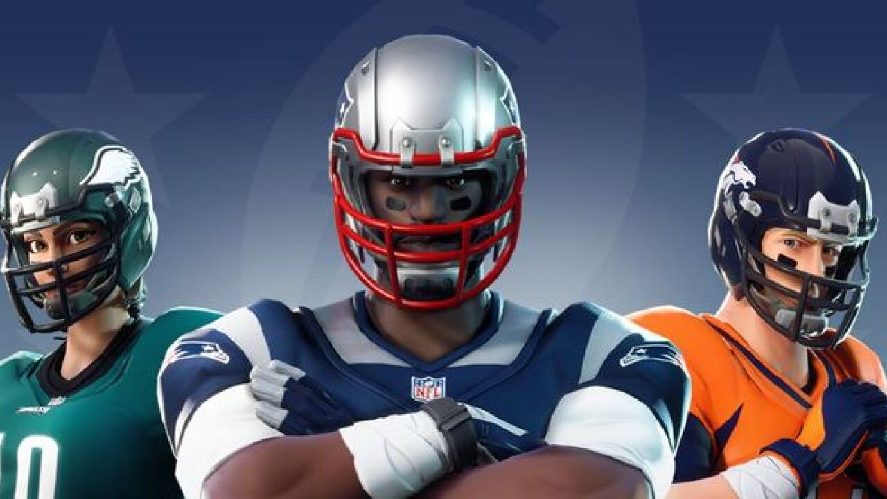 Fortnite and NFL announce new partnership, players can now dress as favorite team