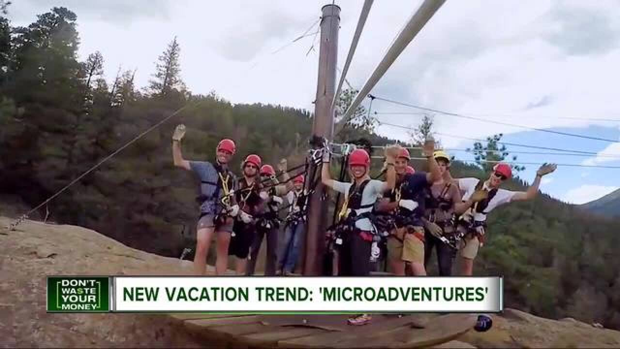 Microadventures new trend for busy travelers